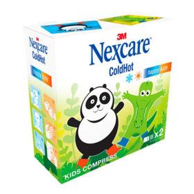 Slika Nexcare ColdHot Happy Kids vrečka velikosti 10x12 cm, 2 vrečki