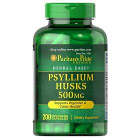 Slika Puritan's Pride Psyllium Indijski trpotec, 400 kapsul