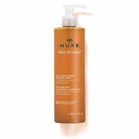 Slika Nuxe Reve de Miel izjemno bogat čistilni gel za obraz in telo, 400 mL
