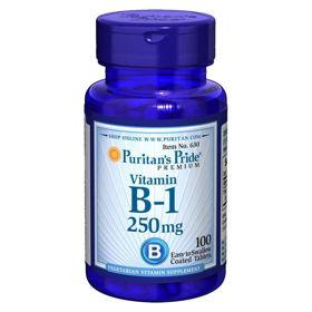 Slika Puritan's Pride B-1 vitamin 100 mg, 100 kapsul