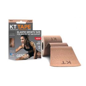 Slika KT Tape Gentle elastični športni trak - bež odtenek, 5 m