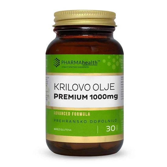 PharmaHealth krilovo olje Premium 1000 mg, 30 kapsul