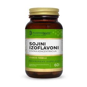 Slika PharmaHealth sojini izoflavoni, 60 kapsul