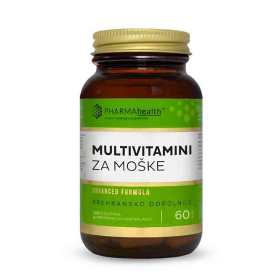 PharmaHealth multivitamini za moške, 60 kapsul