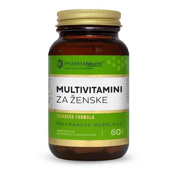 PharmaHealth multivitamini za ženske, 60 kapsul
