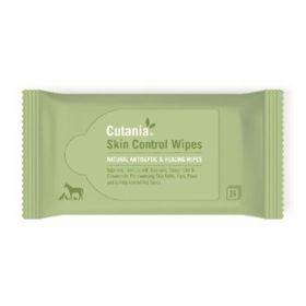 Slika Cutania Control Wipes čistilni robčki za pse, mačke, male živali in konje, 24 robčkov