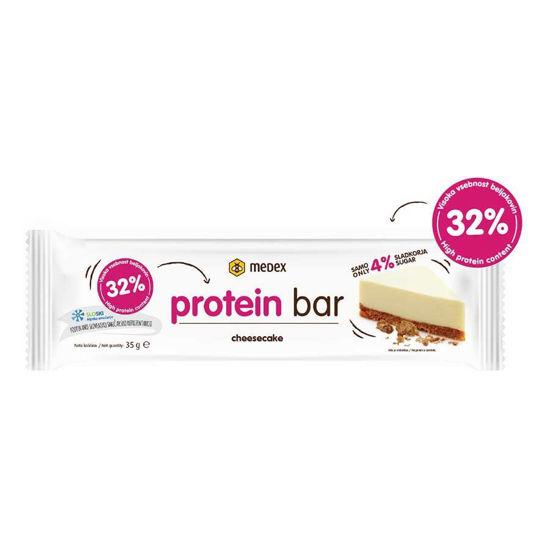 Medex proteinska ploščica sirova torta, 35 g