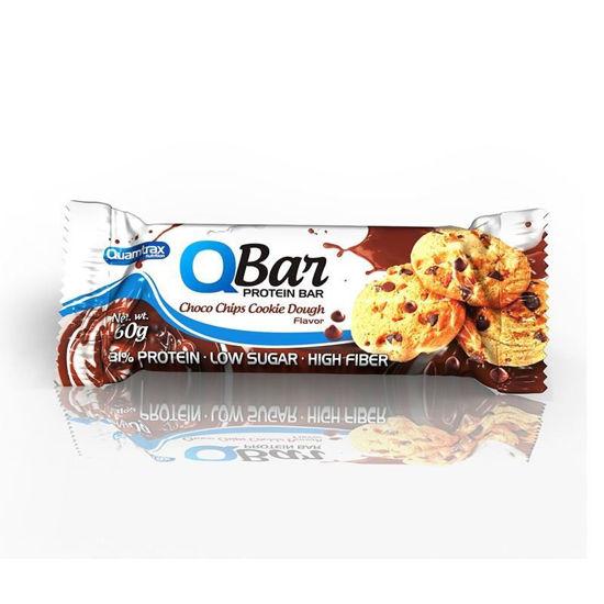 Quamtrax Q-bar ploščica, 10x60 g