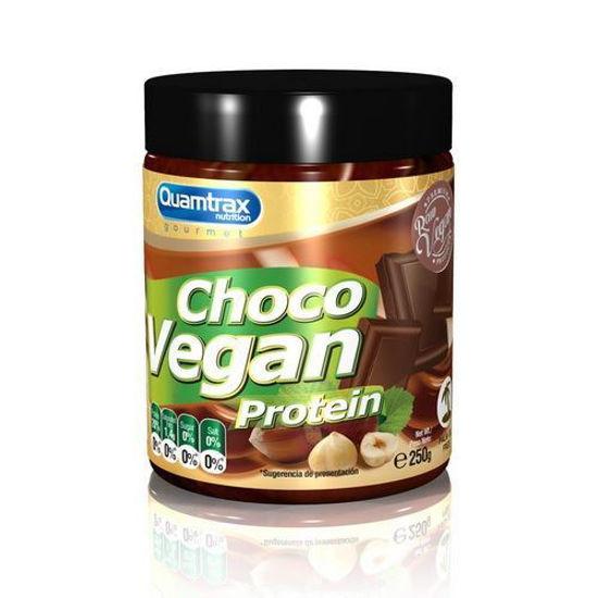 Quamtrax Vegan Choco proteinska krema, 2x250 g