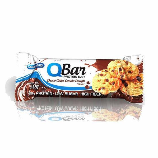 Quamtrax Quamtrax Q-bar beljakovinska ploščica, 10x60 g
