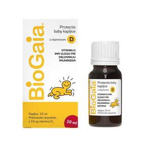 Slika BioGaia ProTectis Baby kapljice z vitaminom D3, 10 mL (EWOPHARMA GROUP)