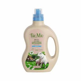 Slika BioMio 2v1 ECO tekoči detergent in odstranjevalec madežev na perilu, 1.5 L