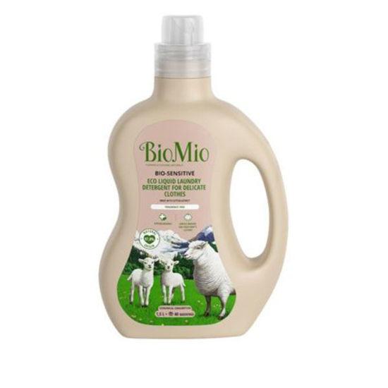 BioMio BIO-sensitive EKO tekoči detergent za perilo, 1500 mL
