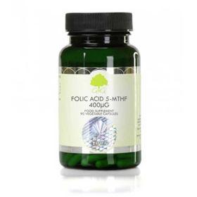 Slika G&G Vitamins Bioaktivna oblika folne kisline 5-MTHF, 120 kapsul