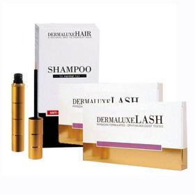 Slika DermaLuxeHair šampon proti izpadanju, 2x200 mL + GRATIS DermaluxeLash serum