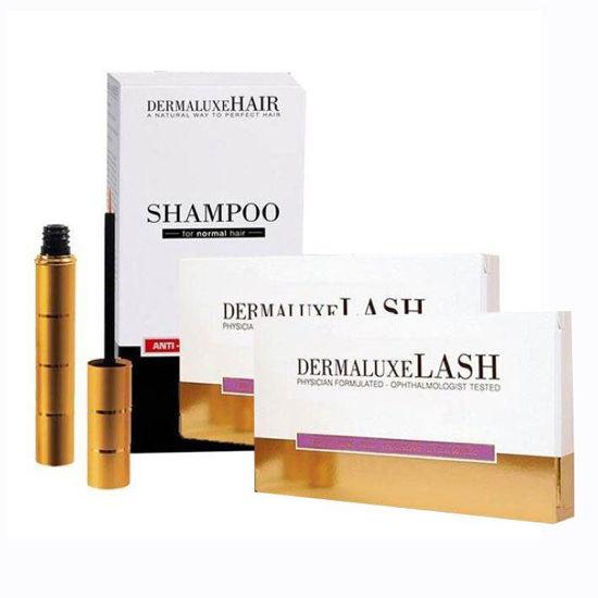 DermaLuxeHair šampon proti izpadanju, 2x200 mL + GRATIS DermaluxeLash serum