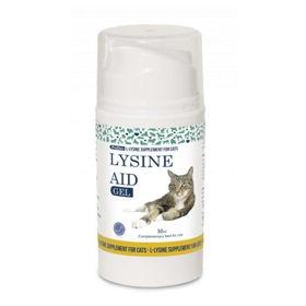 Slika Lysine Aid gel za mačji herpes, 50 mL