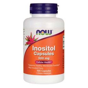 Slika Now inozitol 500 mg - kapsule ali prah
