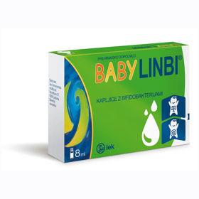 Slika Baby Linbi kapljice za otroke s prijateljskimi bifidobakterijami, 8 mL