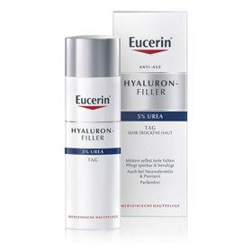 Slika Eucerin Hyaluron-Filler Urea dnevna krema za suho kožo, 50 mL