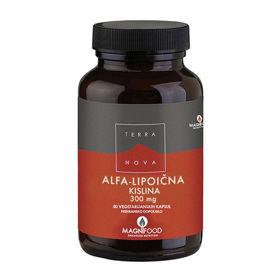 Slika TerraNova Alfa Lipoična kislina 300 mg, 50 kapsul