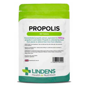 Slika Lindens Propolis 1000 mg, 60 tablet