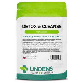 Slika Lindens Detox & Cleanse razstrupljanje in čiščenje, 90 kapsul