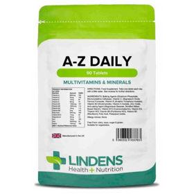 Slika Lindens Multivitamini in minerali A-Z za vsak dan, 90 tablet