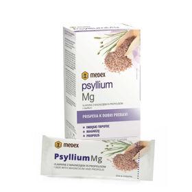 Slika Medex psyllium Mg vlaknine z magnezijem in propolisom, 14 vrečk po 6,3 g