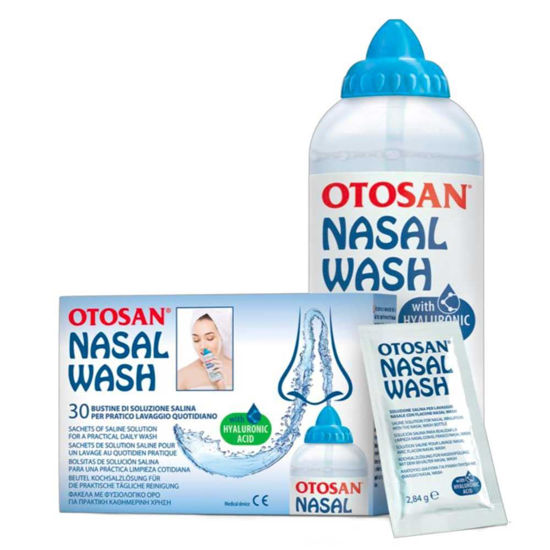 Otosan set za izpiranje nosu, 240 mL + 30 vrečk