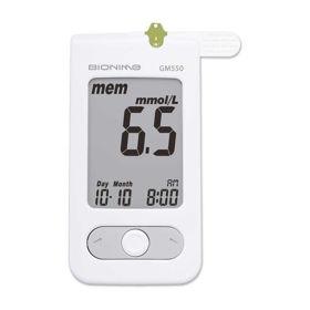 Slika Bionime GM 550 merilnik krvnega sladkorja, 1 set