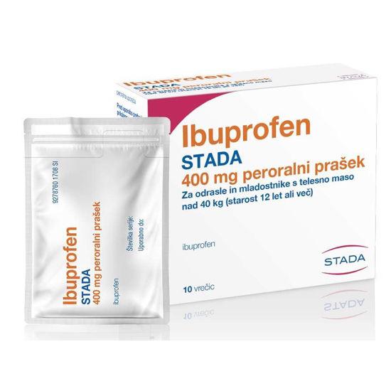 Ibuprofen STADA peroralni prašek, 10 vrečic