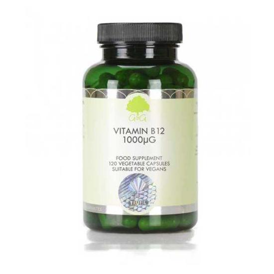 G&G Vitamins B12 metilkobalamin 1000 μg vitamin, 120 kapsul