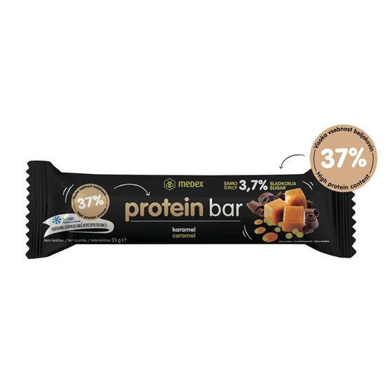 Medex Protein bar - karamela, 55 g