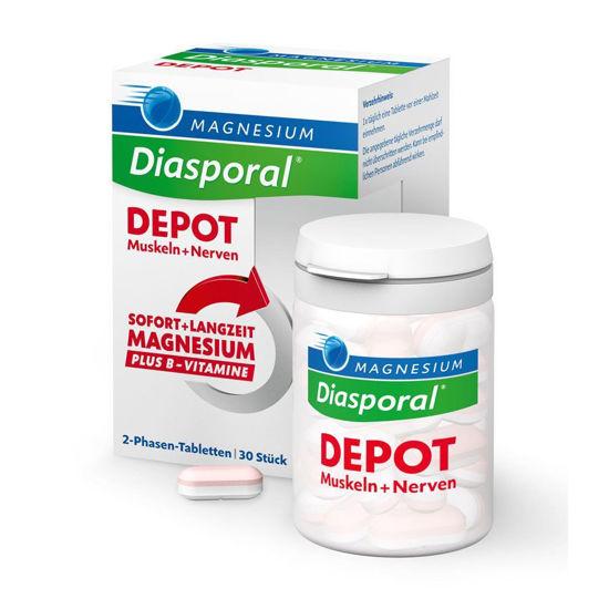 Magnesium-Diasporal DEPOT 2-fazni magnezij, 30 tablet