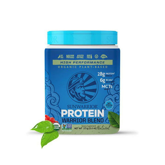 SunWarrior Warrior Blend naravni rastlinski proteini, 375 ali 750 g