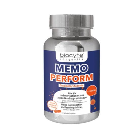 Biocyte Memo Perform za študente, 60 kapsul