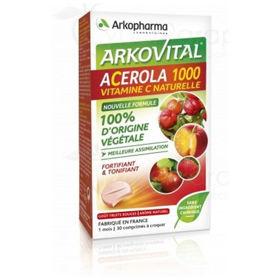 Slika Arkovital Acerola 1000 naraven C vitamin, 30 tablet