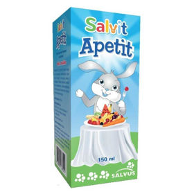 Slika Salvit Apetit tekočina z okusom maline, 150 mL
