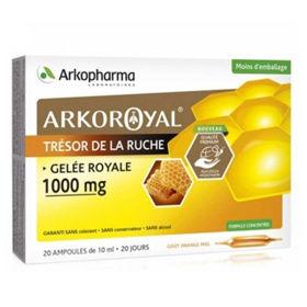 Slika Arkoroyal Gelee Royale bio matični mleček 1.000 mg - ampule, 20 x 10 mL