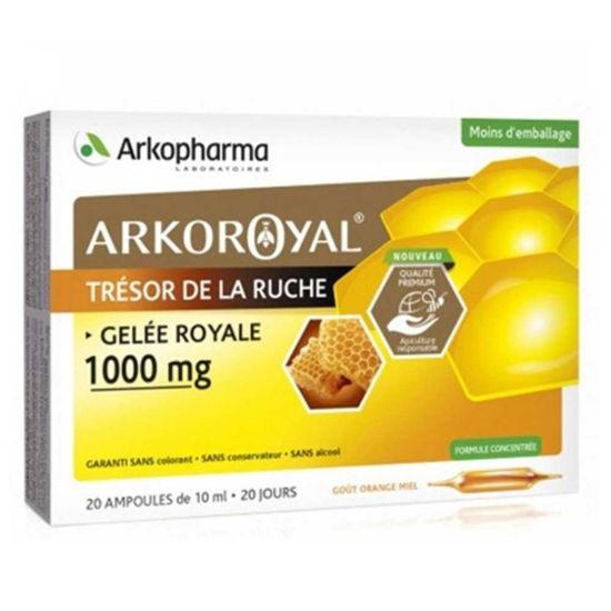 Arkoroyal Gelee Royale bio matični mleček 1.000 mg - ampule, 20 x 10 mL