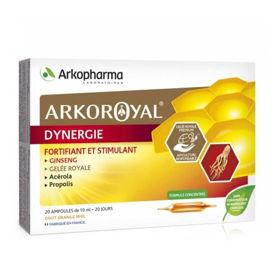 Slika Arkoroyal Dynergie matični mleček, acerola in propolis - ampule, 20 x 10 mL
