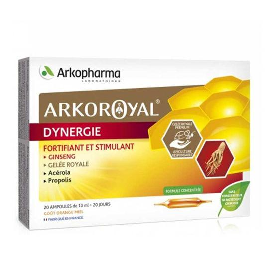 Arkoroyal Dynergie matični mleček, acerola in propolis - ampule, 20 x 10 mL