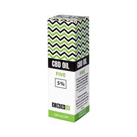 Slika CBDex CBD OIL FIVE 5 % tinktura, 10 mL