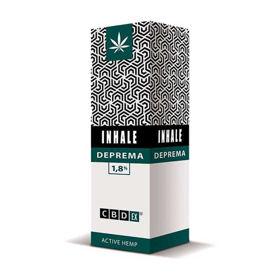 Slika CBDex Inhale Deprema inhalacijska tekočina 500 mg CBD, 10 mL