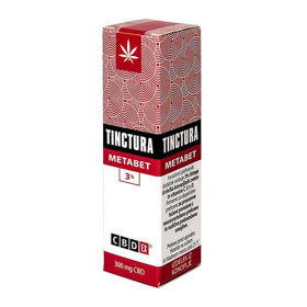 Slika CBDex Metabet tinktura 300 mg CBD, 10 mL