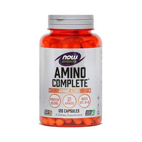 Slika Now Sports Amino Complete, 120 kapsul