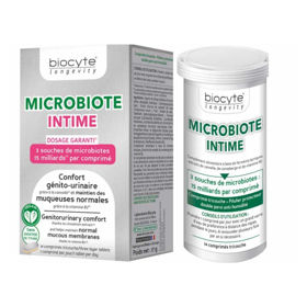 Slika Biocyte MICROBIOTA INTIMA, 14 troslojnih tablet