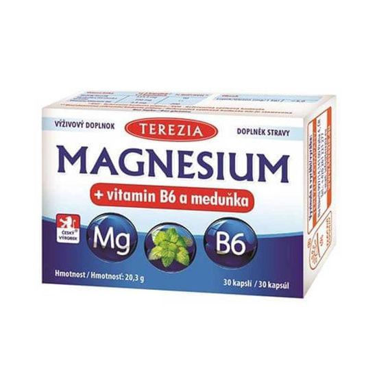 Magnezij iz morskih alg + B6  in melisa, 30 kapsul