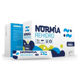 Slika NORMIA REHIDRO vrečice, 10 vrečic
